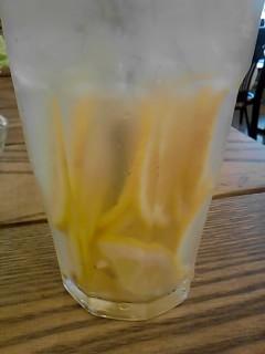 フレッシュネスバーガーのレモネ