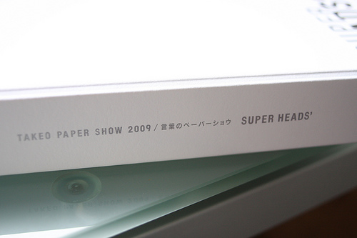 TAKEO PAPER SHOW 2009