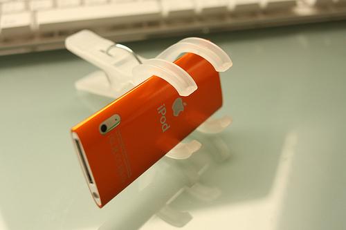 iPod nanoのビデオカメラ