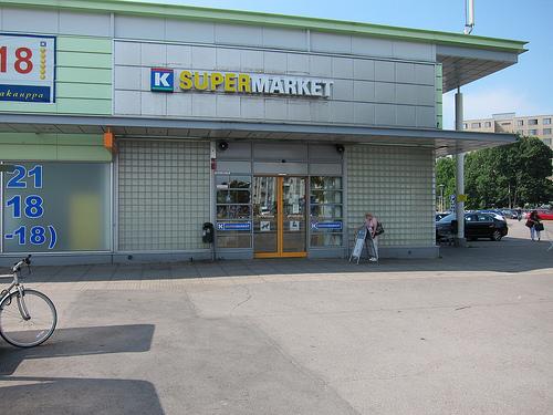 北欧旅行特別編(スーパーマーケット)
