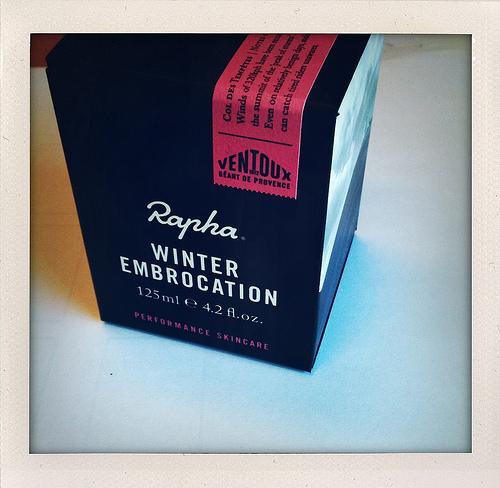 寒さ対策 Rapha Winter Embrocation