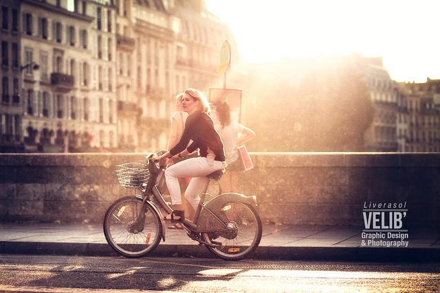 パリでヴェリブに乗ってみた