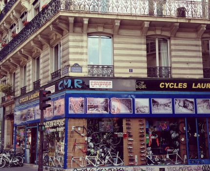 パリの自転車事情