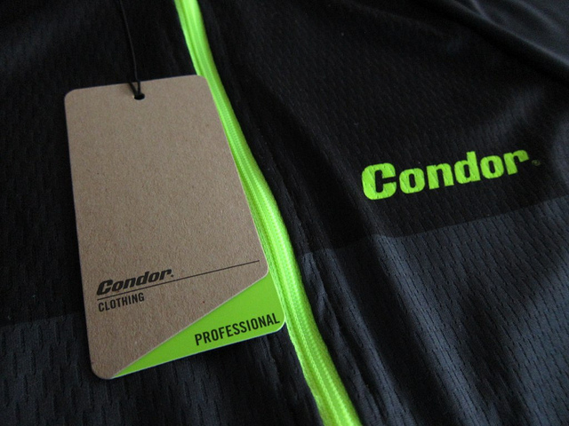 ウインターライド用にCondor Cycles Professional Winter Jerseyを購入
