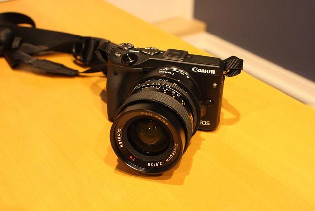 Canon EOS M3を導入