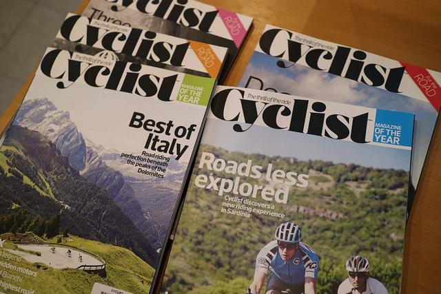 雑誌「Cyclist」