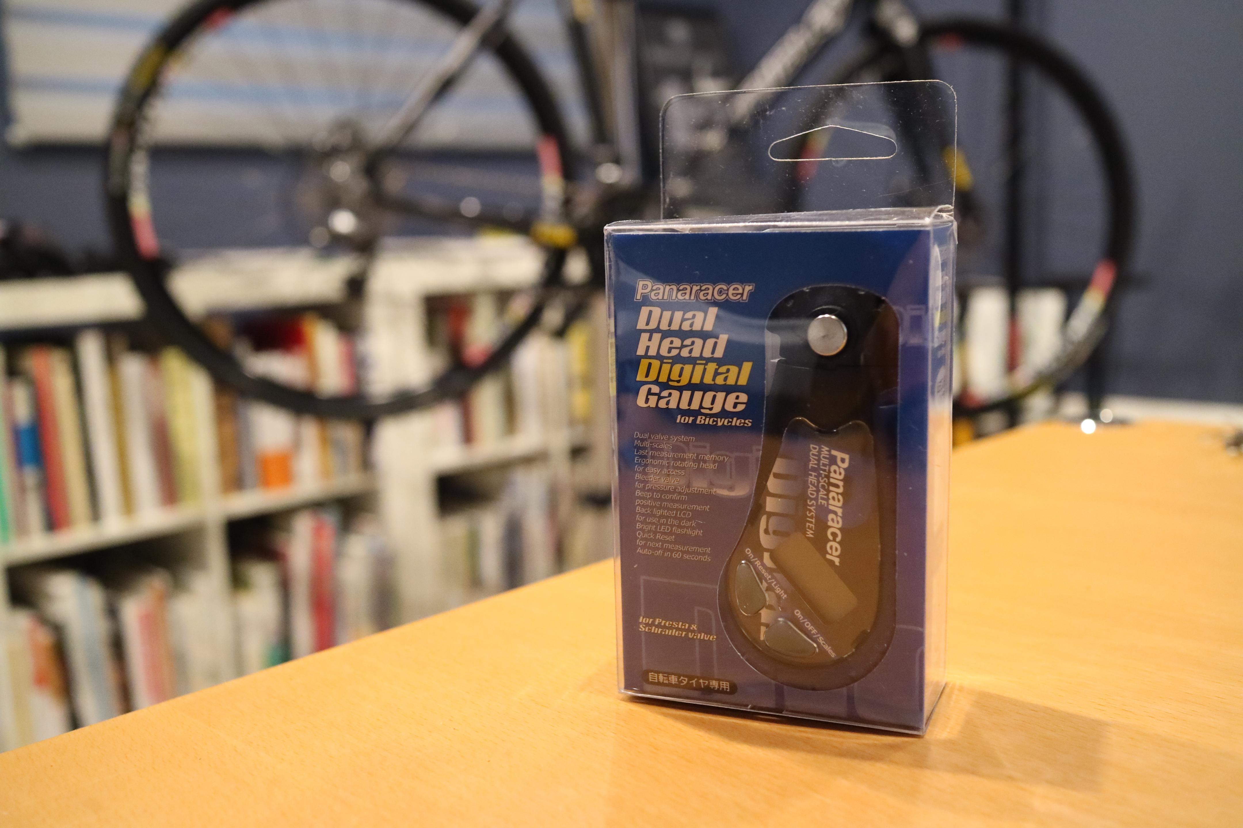 Panaracer Dual Head Digital Gaugeがレース以外でも意外と重宝